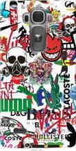 "Чехол на LG G Flex2 Many different logos ""4022u-287-2448"""