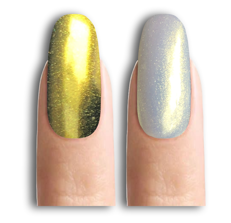 Втирка для нігтів біле золото