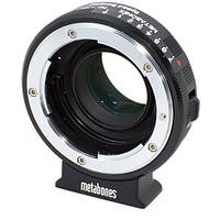 Metabones Nikon G Lens to Blackmagic 2.5k Cinema Camera with Micro-4/3 Mount Speed Booster (MB_SPNFG-BMCC-BM1), фото 1