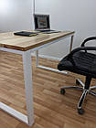 Дерев'яний офісний стіл з ясена 120х70, фото 8