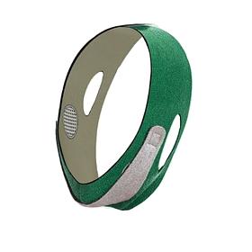 Маска бандаж для коррекции овала лица (Green Gray) | Бандажная маска для коррекции второго подбородка