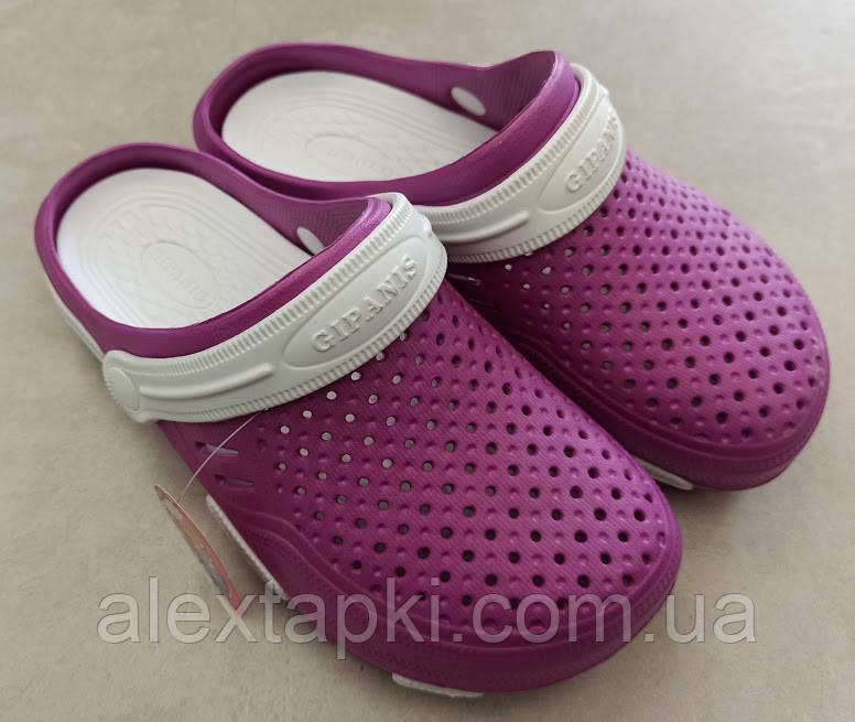 САБО ЖІНОЧІ GIPANIS CD 48 Фиолето-білі