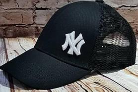 Чоловіча жіноча кепка бейсболка з сіткою нью йорк