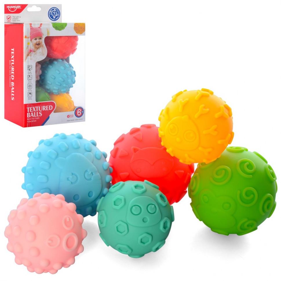 Іграшки для ванної HE0256 М'ячики 7,5 см