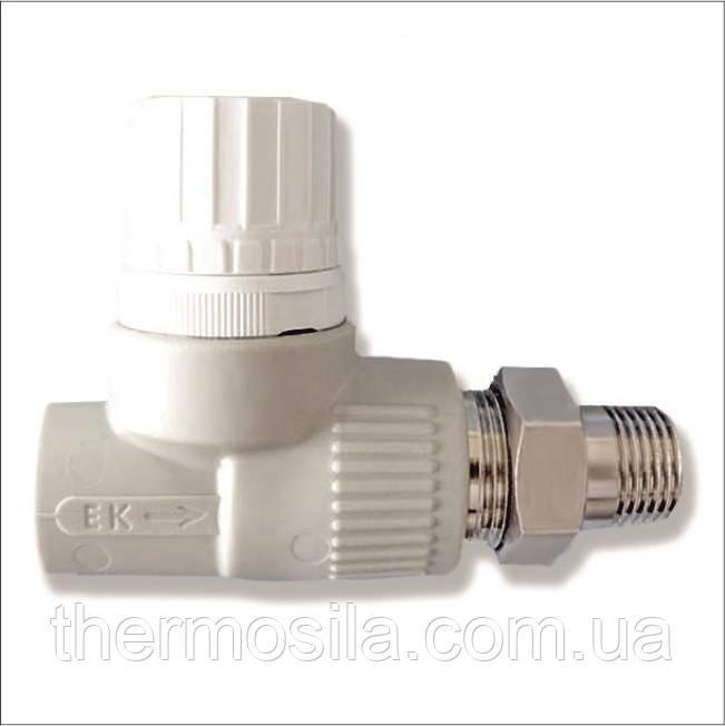 Вентиль радиаторный прямой d 20 Ekoplastik, опт и розница