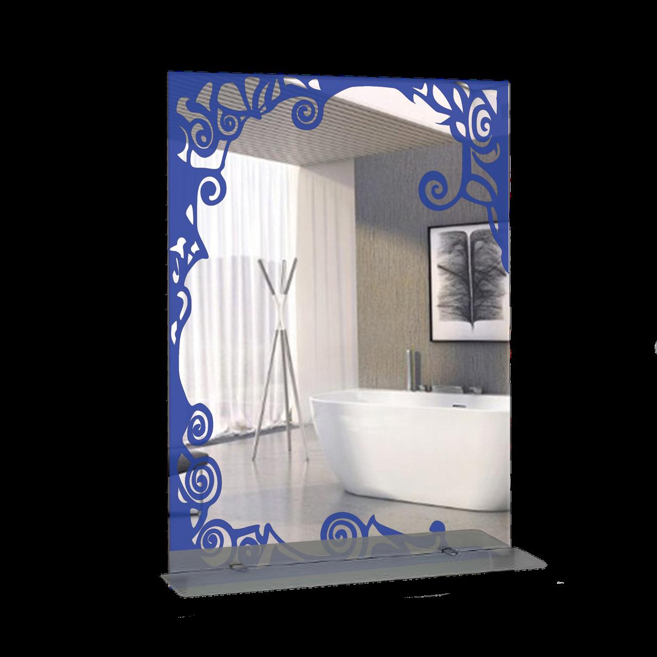 Дзеркало для ванної кімнати 600х800 Ф372