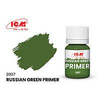 Грунтовка акрилова Російська зелений, 17 мл ICM 2007