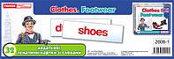 Тематичні картки Світогляд Англ Додаткові Одяг взуття 32 2606-1