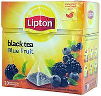 "Чай черный Lipton ""Блу Фрукт"" 20пір"