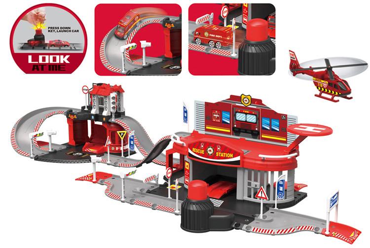 Дитячий ігровий паркінг Пожежна станція