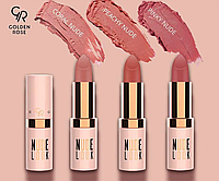 Нюдовая матовая помада для губ Golden Rose Nude Look Perfect Matte Lipstick ДРОПШИППИНГ