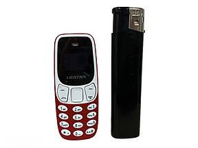 Мини мобильный маленький телефон L8 Star BM10 (2Sim) красный