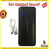Power Bank SAMSUNG 60000mAh ПОТУЖНИЙ +LED ліхтарик, 3 USB, Повер бБанк універсальна Батарея, Зовнішній акумулятор