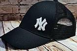 Чоловіча жіноча бейсболка кепка нью йорк, фото 2