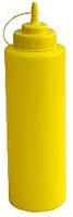 510252 Пляшка для соусу 1025мл, жовта
