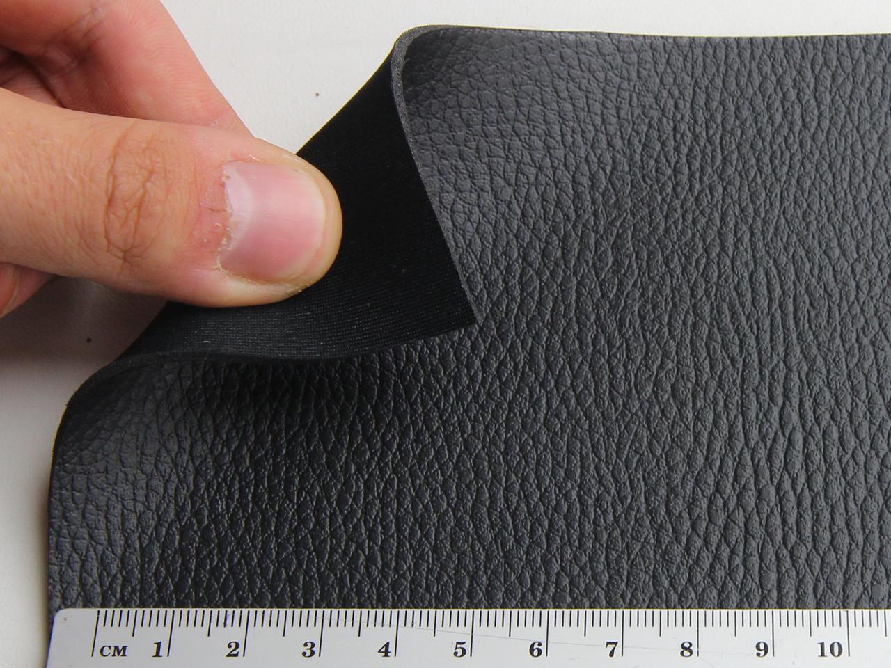 Термовинил чорний для перетяжки керма, дверних карт, панелей на каучуковій основі (tk-1)