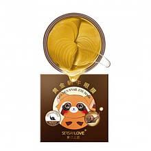 Патчи гидрогелевые SersanLove Golden Snail Eye Mask с золотом и муцином улитки, 60 штук
