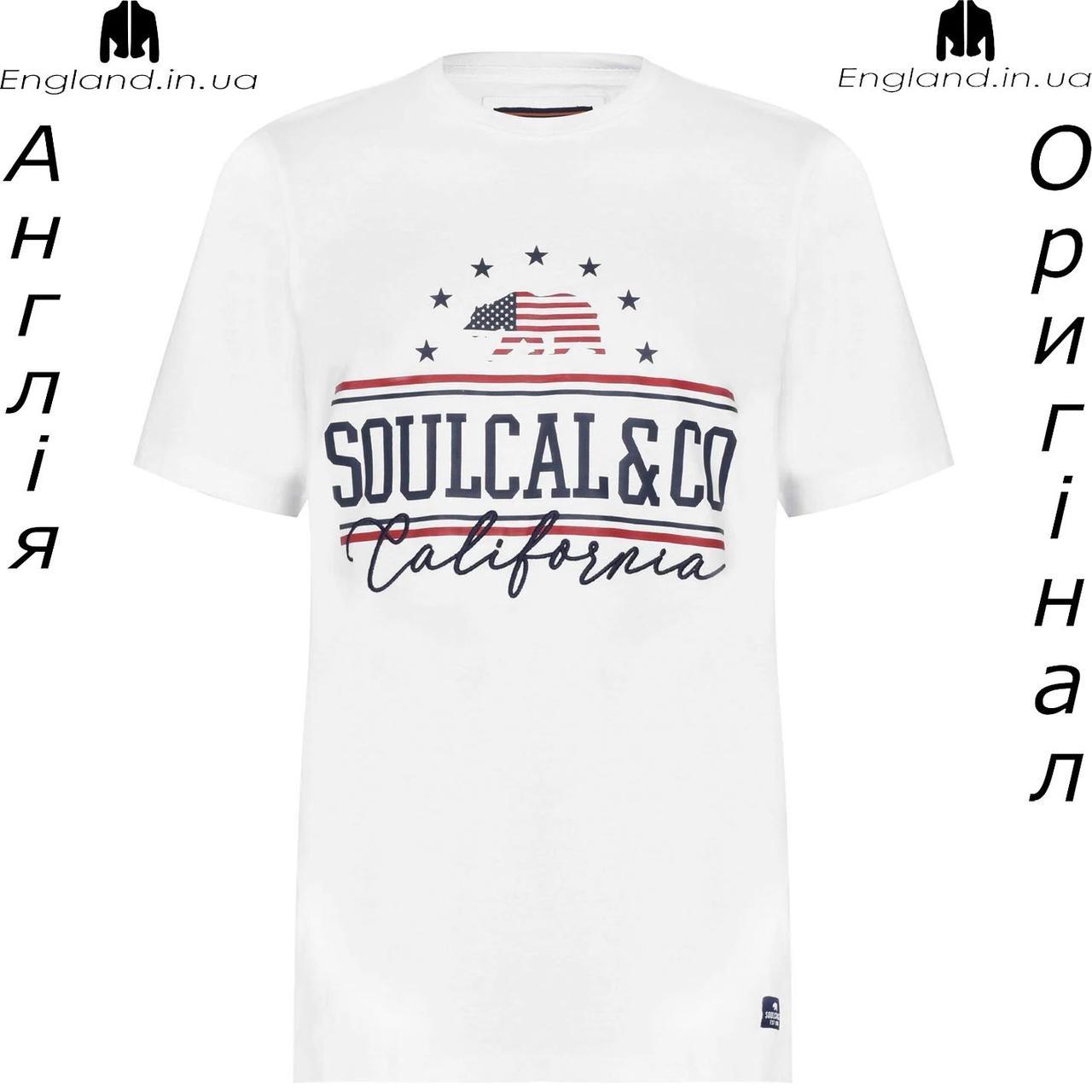 Футболка чоловіча SoulCal з Англії