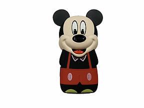 Мини Мобильный Телефон Mickey Mouse (Power Bank встроенный) красный мальчик