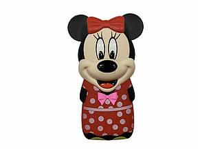 Мини Мобильный Телефон Mickey Mouse (Power Bank встроенный) красная девочка
