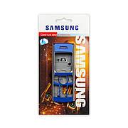 Корпус SAMSUNG A700 A7 темно-синій