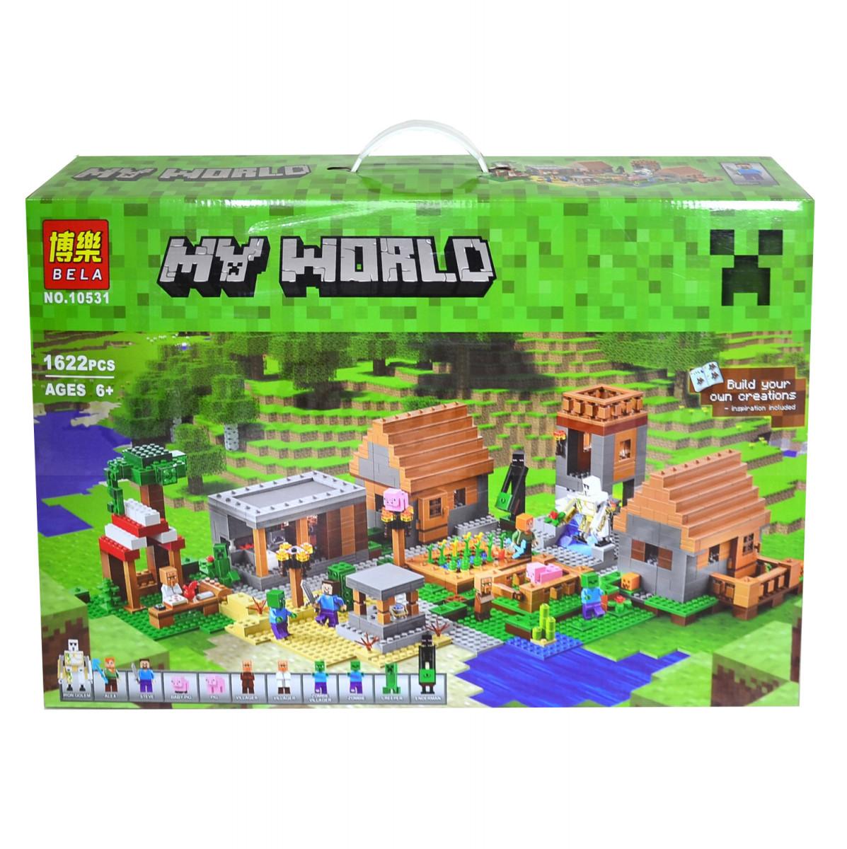 Конструктор Minecraft Село 10531