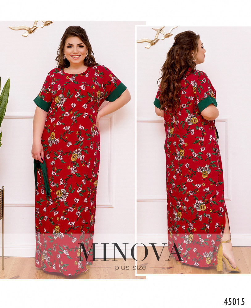 Платье №2270-красный красный/46-48