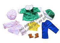 Кукла Милана с набором одежды по сезонам. Одягни Ляльку