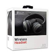 Навушники Bluetooth CELEBRAT A9 Wireless Headset сірі