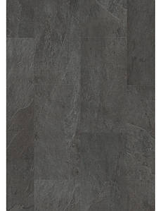 Винил Quick-Step Alpha Vinyl Tiles AVST40035, Сланец Черный