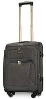 Маленький (S) тканевый чемодан ORMI 701 на 4 колесах