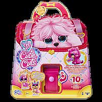Мягкая игрушка Moose Няшка Потеряшка Груминг Салон розовая (30146)