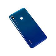 Задняя крышка HUAWEI Y7 (2019) синяя