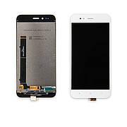Дисплей XIAOMI Mi A1/Mi5X c білим тачскріном
