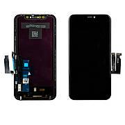 Дисплей APPLE iPhone XR (IPS) з чорним тачскріном