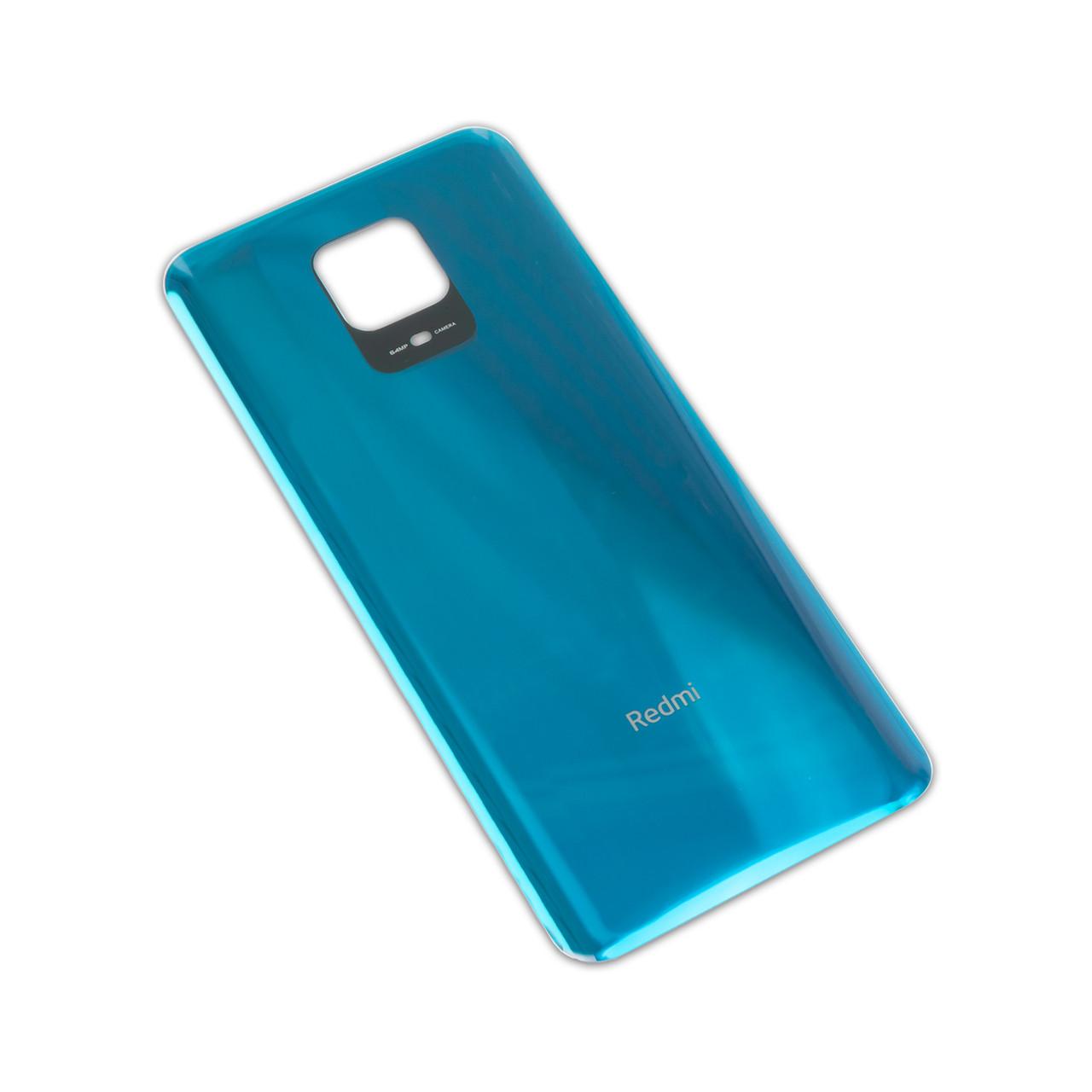 Задня кришка XIAOMI Redmi Note 9 Pro/Note 9 Pro Max/Note 9S блакитна