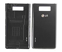 Задняя крышка LG P705 черная