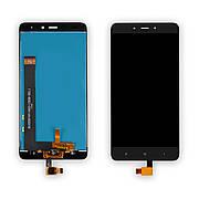 Дисплей XIAOMI Redmi Note 4 c чорним тачскріном