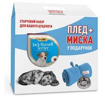 Royal Canin Jack-Russell Puppy 1,5 кг для цуценят породи джек-рассел-тер'єр + миска і плед в подарунок