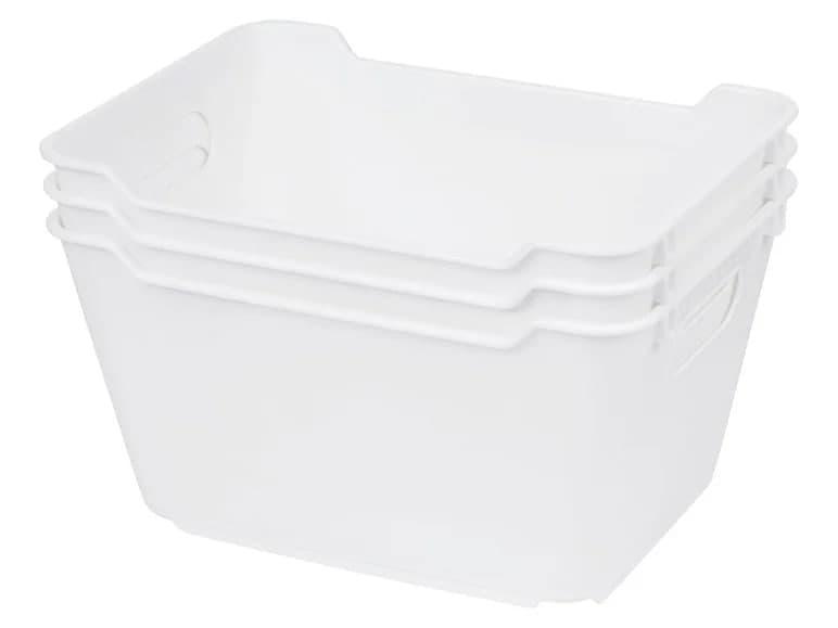 Ящик для зберігання CASSETTI 3 шт. 14,0 x 10 x 19,5 см