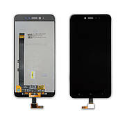 Дисплей XIAOMI Redmi Note 5A Prime c чорним тачскріном