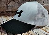 Чоловіча жіноча бейсболка кепка андер амур з сіткою, фото 2