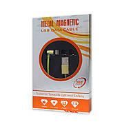 Кабель USB-iPhone 5/6/iPad Metal Magnetic 360° 2.1 A магнітний зелений
