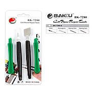 Набор инструментов BAKU BK-7280-D (скальпель, 3 лопатки)