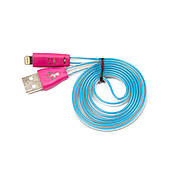 Кабель USB-iPhone 5/6/iPad смайлик