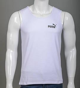 -Р- Майка мужская Puma Белый (2108к), XXL