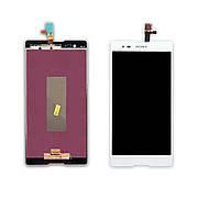 Дисплей SONY D5303/D5306/D5322 Xperia T2 Ultra з білим тачскріном