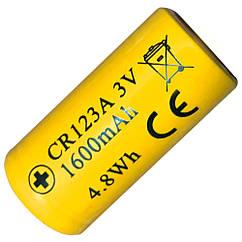Літієва Батарейка Li-Ion CR123A / 16340 Nitecore 3V (1550mAh)