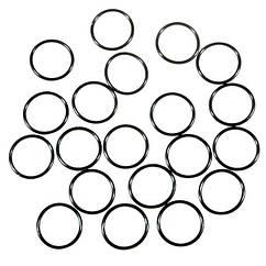 Водонепроницаемые уплотнительные кольца для фонарей (38 x 1.5mm), черные