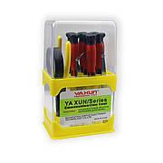 Набор отвёрток YA XUN YX-219 (отвертки, кусачки, пинцеты, лупа)